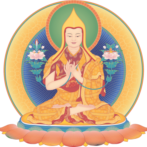 Je Tsongkhapa 4_transparent